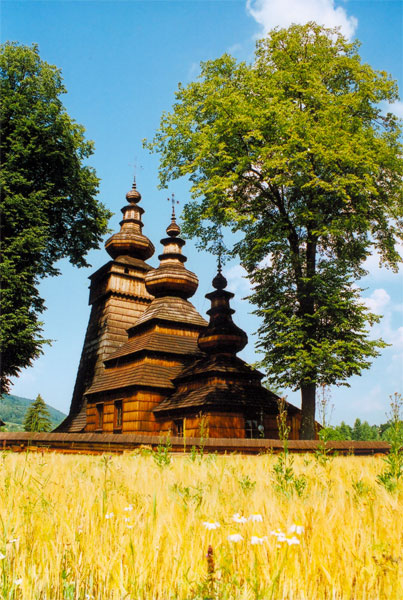 Cerkiew w Kwiatoniu. Fot. Anna Gawryś