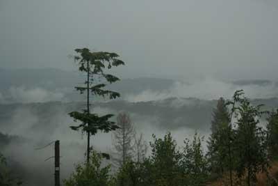 W górach po burzy. Fot. J. Gawryś.