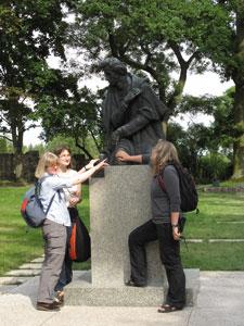 Pomnik Chopina. Fot. J. Gaczyńska.