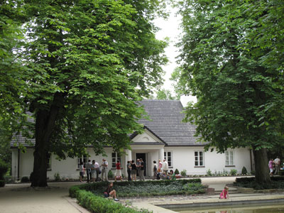 Dom urodzenia Chopina w Żelazowej Woli.Fot. J. Gaczyńska.