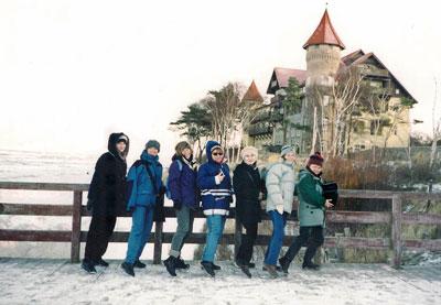 Zimą nad morzem. Fot. J. Gaczyńska.