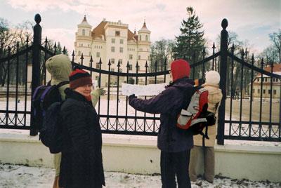 Pałac w Wojanowie. Fot. J. Gaczyńska.