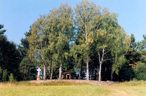 Cmentarz wojenny w Krempnej. Fot. Anna Gawryś.