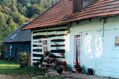 To nie schronisko, lecz zwykła chatka w Krempnej. Fot. Anna Gawryś.