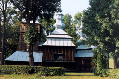Cerkiew w Krempnej. Fot. Anna Gawryś.