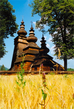 Cerkiew w Kwiatoniu. Fot. Anna Gawryś.