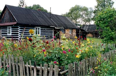 Stare chaty w Polanach. Fot. A. Gawryś