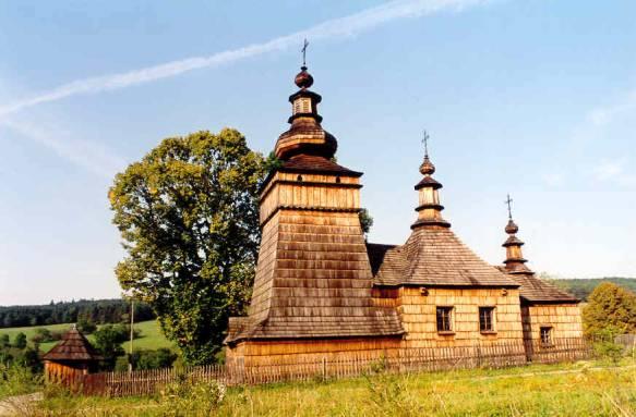 Cerkiew w Skwirtnem. Fot. Anna Gawryś.