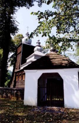 Cerkiew w Uściu Gorlickim. Fot. Anna Gawryś.