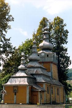 Cerkiew w Wysowej. Fot. Anna Gawryś.
