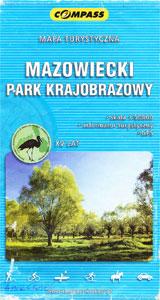 Mapa Mazowieckiego Parku Krajobrazwego
