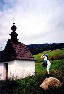 Fotogeniczna kapliczka w Bodakach. Fot. Joanna Gaczyńska.