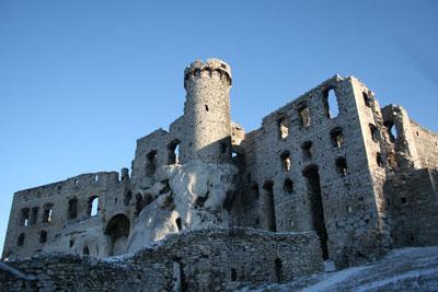 Zamek w Ogrodzieńcu. Fot. J. Gawryś.