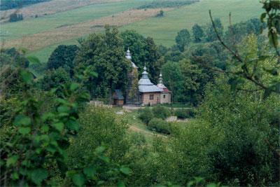 Cerkiew w Chyrowej. Fot. Anna Gawryś.