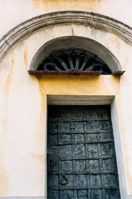 Fragment kościoła parafialnego w Dukli.. Fot. Anna Gawryś.